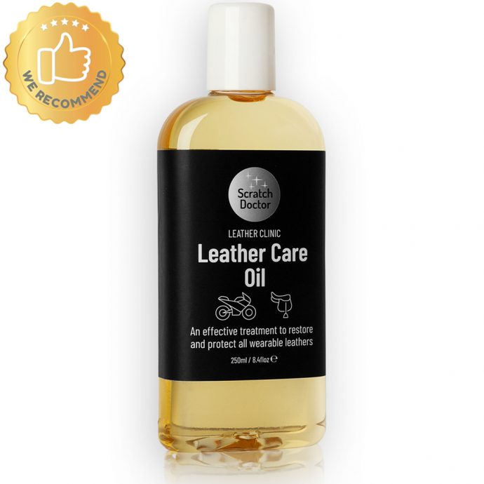 leather care oil for wearable leathers
