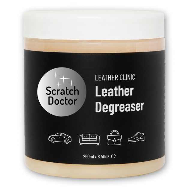 scratch doctor leather degreaser